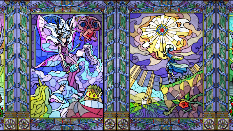 A Stained Glass Adventure Game